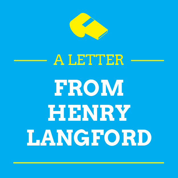 A Letter From Henry Langford